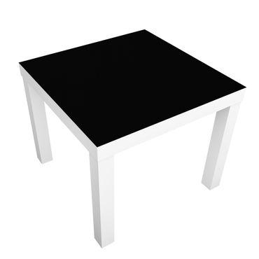 Carta adesiva per mobili IKEA - Lack Tavolino Colour Black