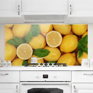 Paraschizzi in vetro - Juicy Lemons - Orizzontale 1:2