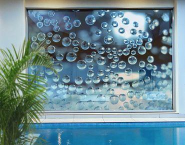 XXL Pellicola per vetri - Dark Bubbles