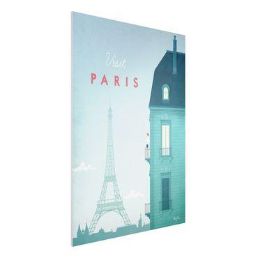 Stampa su Forex - Poster Viaggio - Parigi - Verticale 4:3