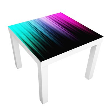 Carta adesiva per mobili IKEA - Lack Tavolino Rainbow Display