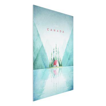 Stampa su Forex - Poster di viaggio - Canada - Verticale 3:2