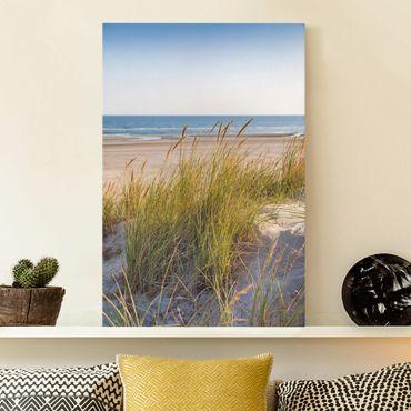 Stampa su tela - Beach Dune Al Mare - Verticale 3:2