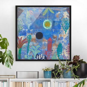 Poster con cornice - Paul Klee - Sunken Landscape - Quadrato 1:1