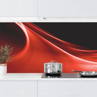 Rivestimento cucina - Onda Rossa