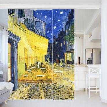Tende scorrevoli set - Vincent Van Gogh - Café Terrace At Night