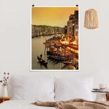 Poster - Canal Grande di Venezia - Verticale 4:3