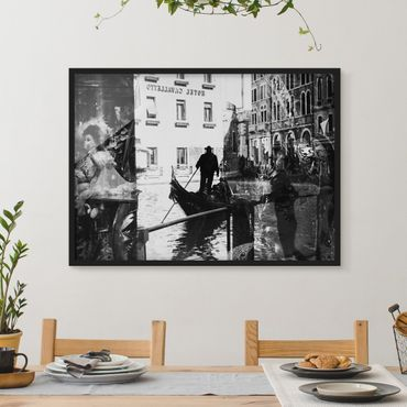Poster con cornice - Venice Reflections - Orizzontale 3:4