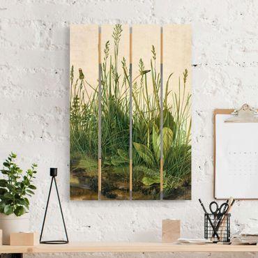 Stampa su legno - Albrecht Durer - The Great Lawn - Verticale 3:2