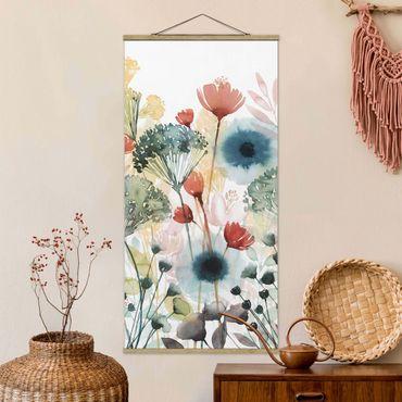 Foto su tessuto da parete con bastone - Wildflowers In estate ho - Verticale 2:1