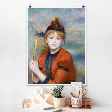 Poster - Auguste Renoir - The Walker - Verticale 4:3