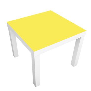 Carta adesiva per mobili IKEA - Lack Tavolino Colour Lemon Yellow