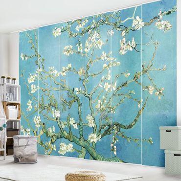 Tende scorrevoli set - Vincent Van Gogh - Mandorlo in Fiore - 6 Pannelli