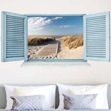 Adesivo murale 3D - Baltic Sea Beach
