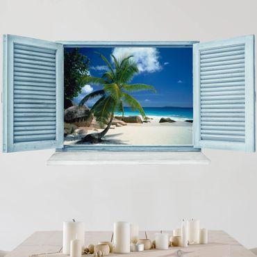 Adesivo murale 3D - Dream Beach