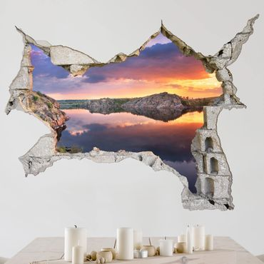Adesivo murale 3D - Wonderful Landscape