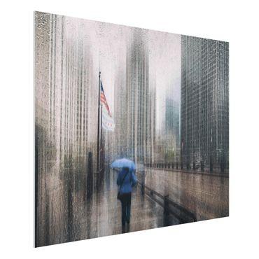 Quadro in forex - Rainy Chicago - Orizzontale 4:3