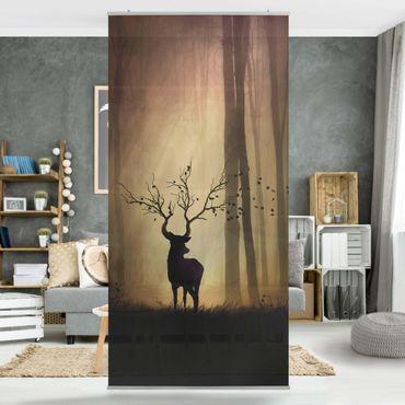 Tenda a pannello - Il Signore della Foresta - 250x120cm