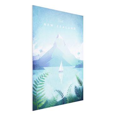Stampa su Forex - Poster Viaggi - Nuova Zelanda - Verticale 4:3