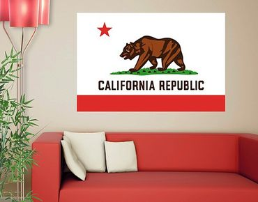 Adesivo murale no.553 California