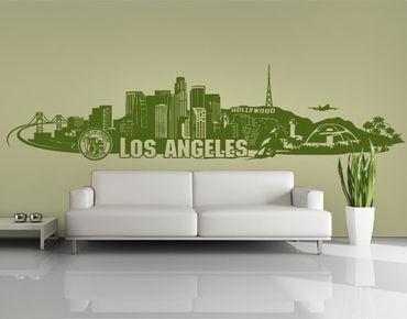 Adesivo murale no.FB103 Los Angeles Skyline