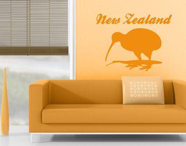 Adesivo murale no.JS38 New Zealand Kiwi