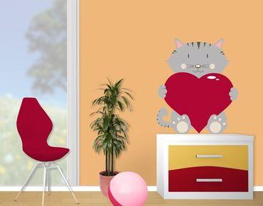 Adesivo murale no.JS65 Cat