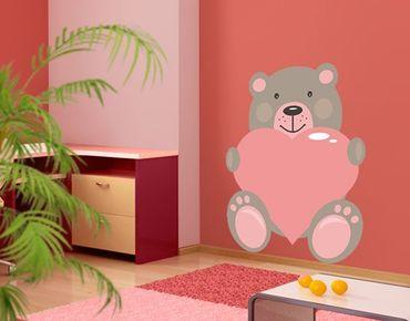 Adesivo murale no.JS63 Bear