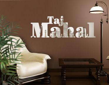 Adesivo murale no.JS58 Taj Mahal