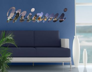 Adesivo murale no.JS51 Miami