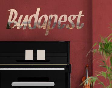Adesivo murale no.JS74 Budapest