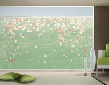 XXL Pellicola per vetri - no.EK236 Spring Background