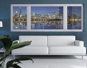Decorazione per finestre Chicago Reflection