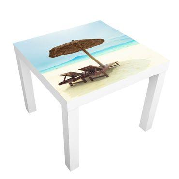 Carta adesiva per mobili IKEA - Lack Tavolino Beach of Dreams