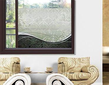 Decorazione per finestre Swinging Baroque