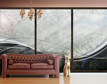 XXL Pellicola per vetri - Swinging Baroque