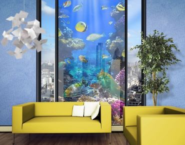 XXL Pellicola per vetri - Underwater Dreams