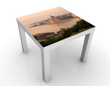 Tavolino design Budapest Skyline