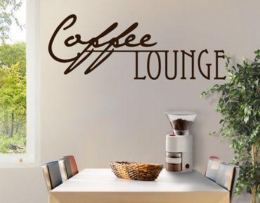 Adesivo murale no.CA27 Coffee Lounge