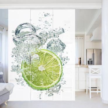 Tende scorrevoli set - Lime Bubbles