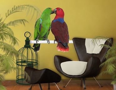 Adesivo murale no.645 Parrots In Love