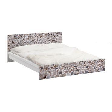 Carta adesiva per mobili IKEA - Malm Letto basso 160x200cm Andalusian Stonewall