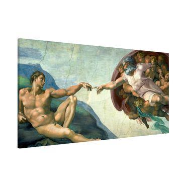 Lavagna magnetica - Michelangelo - Cappella Sistina - Panorama formato orizzontale