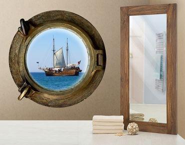 Adesivo murale no.654 Pirate In Sight