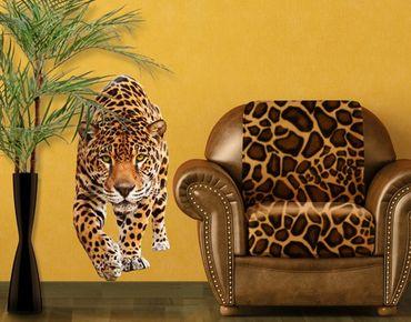 Adesivo murale no.648 Creeping Jaguar