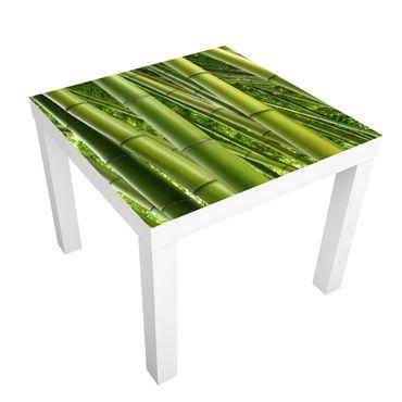 Carta adesiva per mobili IKEA - Lack Tavolino Bamboo Trees