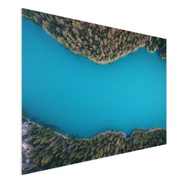 Quadro in forex - Veduta aerea - Deep Blue Sea - Orizzontale 3:2