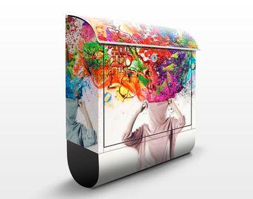 Cassetta postale Brain Explosions 39x46x13cm
