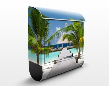 Cassetta postale Catwalk To Paradise 39x46x13cm