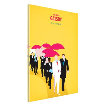 Lavagna magnetica - Poster del film Il Grande Gatsby II - Formato verticale 2:3